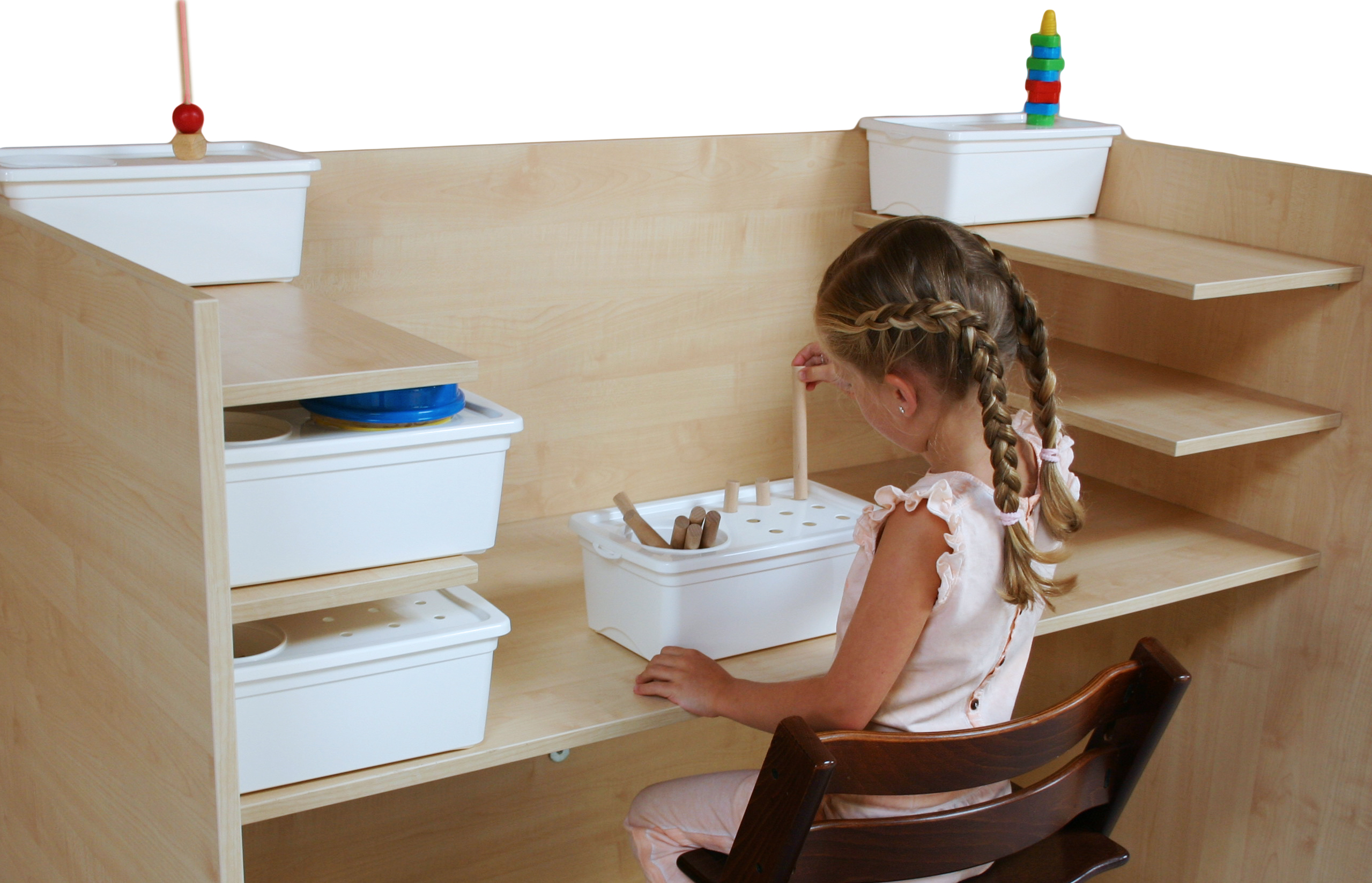 Task-boxes for children with special needs