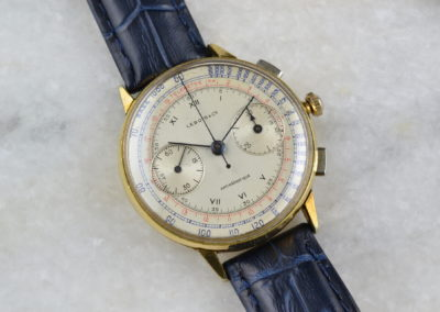 Lebois and Co 1940s Chronograph Antimagnetique Telemetre