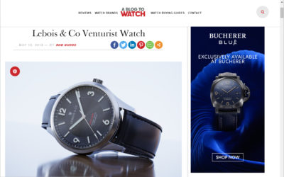 Lebois & Co Venturist on aBlogtoWatch